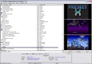GameBase Amiga Screenshot 1